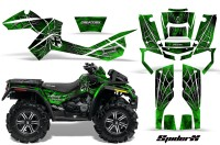 Can-Am-Outlander-XMR-CreatorX-Graphics-Kit-SpiderX-Green