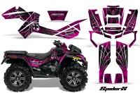 Can-Am-Outlander-XMR-CreatorX-Graphics-Kit-SpiderX-Pink