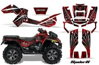 Can-Am-Outlander-XMR-CreatorX-Graphics-Kit-SpiderX-Red-RB