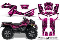Can-Am-Outlander-XMR-CreatorX-Graphics-Kit-Tribal-Madness-Pink