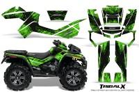 Can-Am-Outlander-XMR-CreatorX-Graphics-Kit-TribalX-Black-Green