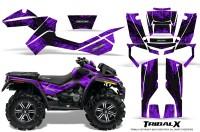 Can-Am-Outlander-XMR-CreatorX-Graphics-Kit-TribalX-Black-Purple