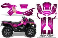 Can-Am-Outlander-XMR-CreatorX-Graphics-Kit-You Rock-Pink