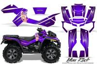 Can-Am-Outlander-XMR-CreatorX-Graphics-Kit-You Rock-Purple
