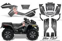 Can-Am-Outlander-XMR-CreatorX-Graphics-Kit-You Rock-Silver