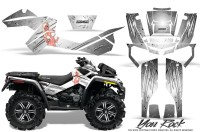 Can-Am-Outlander-XMR-CreatorX-Graphics-Kit-You Rock-White