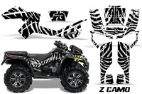 Can-Am-Outlander-XMR-CreatorX-Graphics-Kit-ZCamo-Black-White
