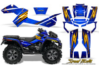 Can-Am-Outlander-XMR-Graphics-Kit-Speed-Bolts-Blue
