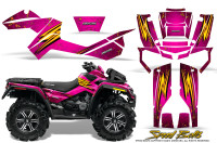 Can-Am-Outlander-XMR-Graphics-Kit-Speed-Bolts-Pink