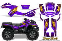 Can-Am-Outlander-XMR-Graphics-Kit-Speed-Bolts-Purple