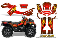 Can-Am-Outlander-XMR-Graphics-Kit-Speed-Bolts-Red