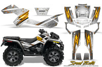 Can-Am-Outlander-XMR-Graphics-Kit-Speed-Bolts-White