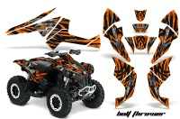 Can-Am-Renegade-800-CreatorX-Graphics-Kit-Bolt-Thrower-Orange-BB