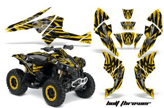Can-Am-Renegade-800-CreatorX-Graphics-Kit-Bolt-Thrower-Yellow-BB