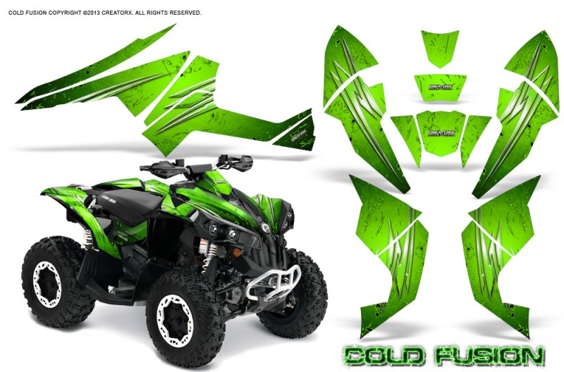 Can-Am-Renegade-800-CreatorX-Graphics-Kit-Cold-Fusion-Green