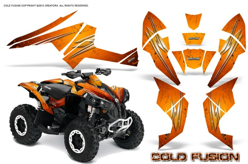 Can-Am-Renegade-800-CreatorX-Graphics-Kit-Cold-Fusion-Orange