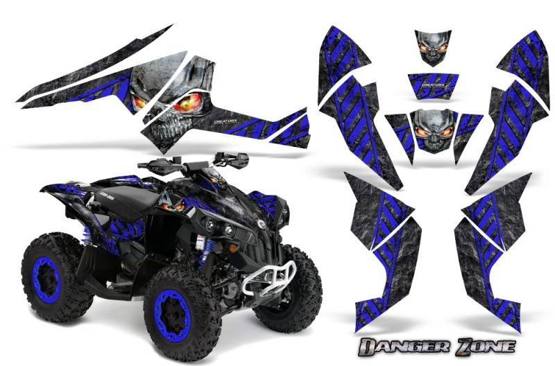 Can-Am-Renegade-800-CreatorX-Graphics-Kit-Danger-Zone-Blue-Black-BB