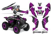 Can-Am-Renegade-800-CreatorX-Graphics-Kit-Danger-Zone-Pink-Black-BB