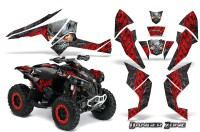 Can-Am-Renegade-800-CreatorX-Graphics-Kit-Danger-Zone-Red-Black-BB