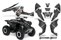 Can-Am-Renegade-800-CreatorX-Graphics-Kit-Danger-Zone-Silver-Black-BB