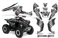 Can-Am-Renegade-800-CreatorX-Graphics-Kit-Danger-Zone-White-Black-BB