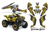Can-Am-Renegade-800-CreatorX-Graphics-Kit-Danger-Zone-Yellow-Black-YB