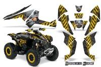 Can-Am-Renegade-800-CreatorX-Graphics-Kit-Danger-Zone-Yellow-Black-YBB