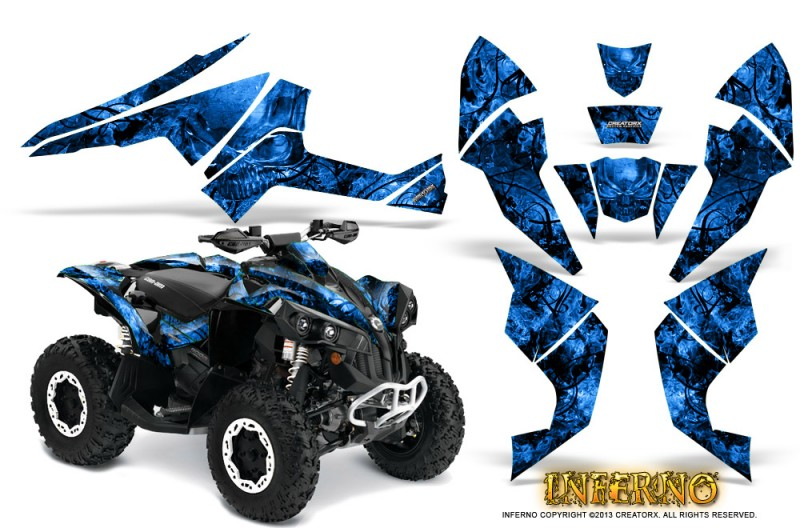 Can-Am-Renegade-800-CreatorX-Graphics-Kit-Inferno-Blue