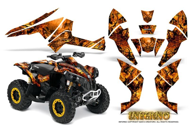 Can-Am-Renegade-800-CreatorX-Graphics-Kit-Inferno-Orange