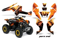 Can-Am-Renegade-800-CreatorX-Graphics-Kit-Pure-Evil-Black-Yellow