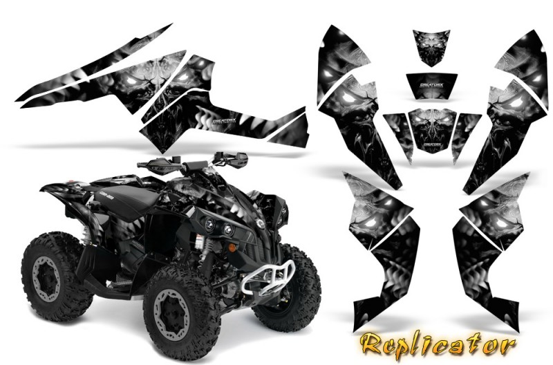 Can-Am-Renegade-800-CreatorX-Graphics-Kit-Replicator-Silver