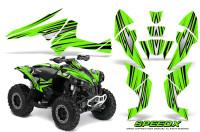 Can-Am-Renegade-800-CreatorX-Graphics-Kit-SpeedX-Green