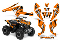 Can-Am-Renegade-800-CreatorX-Graphics-Kit-SpeedX-Orange