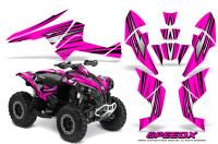 Can-Am-Renegade-800-CreatorX-Graphics-Kit-SpeedX-Pink
