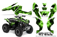 Can-Am-Renegade-800-CreatorX-Graphics-Kit-Spell-Green