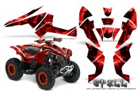 Can-Am-Renegade-800-CreatorX-Graphics-Kit-Spell-Red