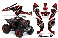 Can-Am-Renegade-800-CreatorX-Graphics-Kit-SpiderX-Red