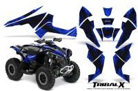 Can-Am-Renegade-800-CreatorX-Graphics-Kit-TribalX-Black-Blue