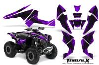 Can-Am-Renegade-800-CreatorX-Graphics-Kit-TribalX-Black-Purple