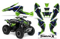 Can-Am-Renegade-800-CreatorX-Graphics-Kit-TribalX-Blue-Green