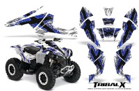 Can-Am-Renegade-800-CreatorX-Graphics-Kit-TribalX-Blue-White