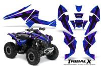 Can-Am-Renegade-800-CreatorX-Graphics-Kit-TribalX-Purple-Blue