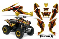 Can-Am-Renegade-800-CreatorX-Graphics-Kit-TribalX-Red-Yellow-BB