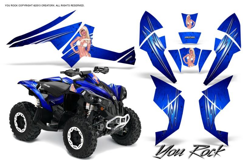 Can-Am-Renegade-800-CreatorX-Graphics-Kit-You-Rock-Blue