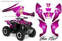 Can-Am-Renegade-800-CreatorX-Graphics-Kit-You-Rock-Pink