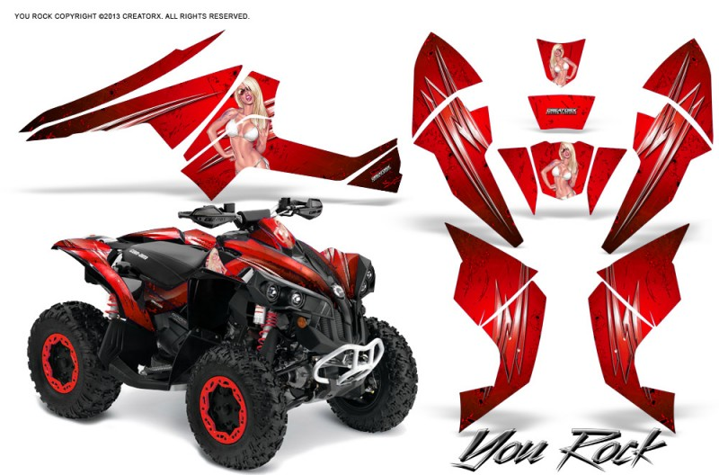 Can-Am-Renegade-800-CreatorX-Graphics-Kit-You-Rock-Red-BB