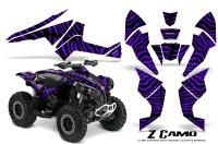 Can-Am-Renegade-800-CreatorX-Graphics-Kit-ZCamo-Purple