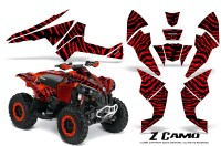 Can-Am-Renegade-800-CreatorX-Graphics-Kit-ZCamo-Red