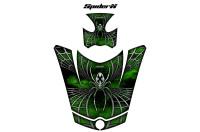 Can-Am-Spyder-Hood-CreatorX-Graphics-Kit-SpiderX-Green-Outline-Green