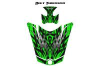 Can-Am-Spyder-RS-GS-Hood-Graphics-Kit-Bolt-Thrower-Green